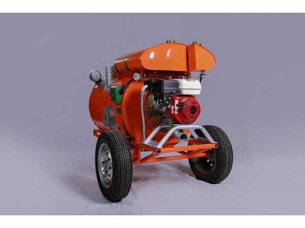Gasoline-Powered Engine Heater MP-70A (70MA), Travel Mode — Sledge (Air Castor)